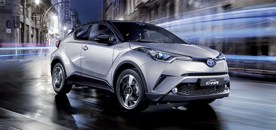 Toyota C-HR: una crossover dalle linee audaci